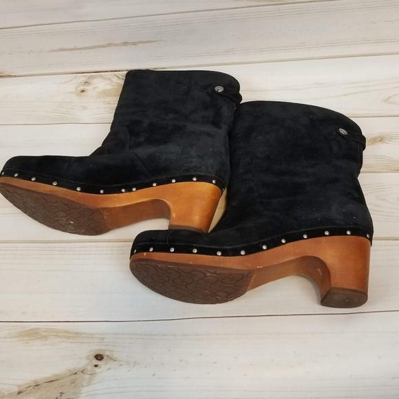 cb529032aeb ... black suede winter boots size 10. M 5b9c2e4603087cad9210607d